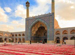 عکس/ نمایی زیبا از مسجد عتیق اصفهان
