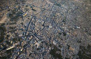 تصاویر هوایی از شور حسینی در اربعین
