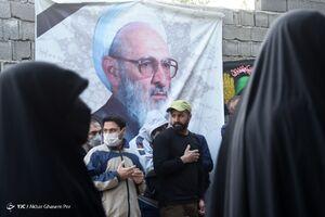 عکس/ آخرین وداع مردم با پیکر علامه حسنزاده آملی