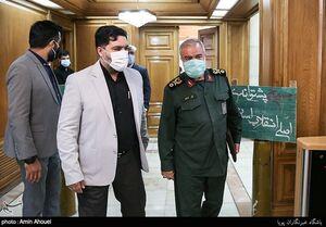 عکس/ جلسه شورای شهر تهران با حضور سردار فدوی