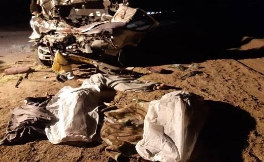 تصادف مرگبار در اتوبان قم _ کاشان /پنج تن کشته و مصدوم شدند