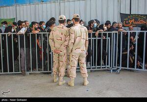 فیلم/ بازگشت زائران از مرز مهران