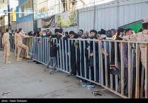 عکس/ وضعیت پایانه مرزی مهران