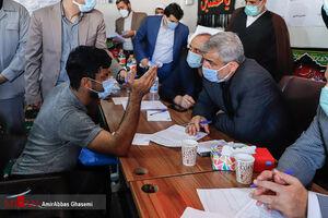 عکس/ بازدید دادستان تهران از زندان تهران بزرگ