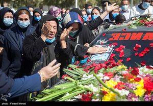 عکس/ تشییع پیکر شهیدمدافع سلامت در کرمانشاه