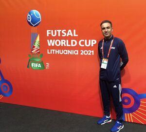 حضور داور ایرانی در نیمهنهایی جام جهانی فوتسال