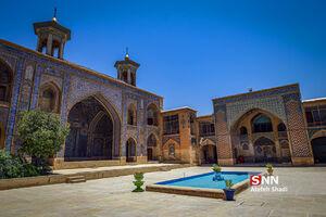 عکس/ هنر کاشیکاری در مسجد مشیر شیراز