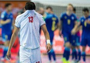 نظری: بازیکنان تیم ملی فوتسال سردرگم بودند
