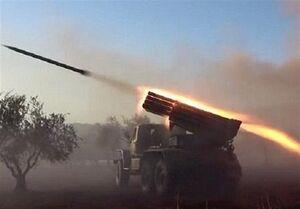 حملات راکتی شدید ارتش سوریه به مواضع تروریستها
