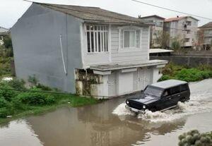 فیلم/ سیلاب و آبگرفتگی در آستارا