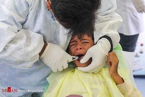 عکس/ خدمترسانی پزشکان جهادی در روستاهای زاهدان