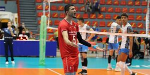 مصدومیت شدید بازیکن تیم والیبال جوانان ایران