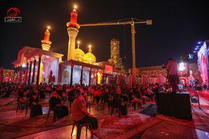 عکس/ مراسم عزاداری شبهای آخر صفر در کاظمین