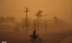 فیلم/ طوفان شدید در شهرستان مرزی هیرمند