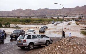طوفان شاهین در عمان یک نفر را کشت
