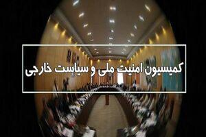 بررسی تحولات منطقه در کمیسیون امنیت ملی مجلس