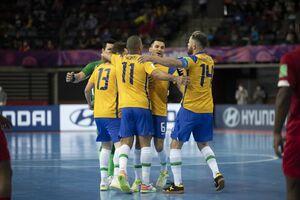 برزیل عنوان سومی جام جهانی فوتسال را کسب کرد
