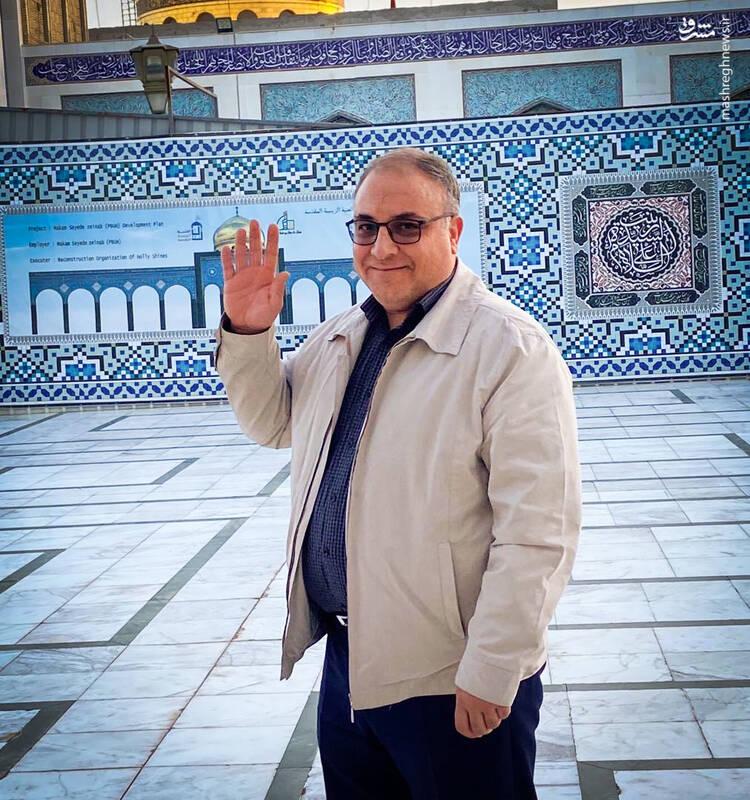 عاقبت نگرانی مدافعحرم برای خانوادهاش + عکس