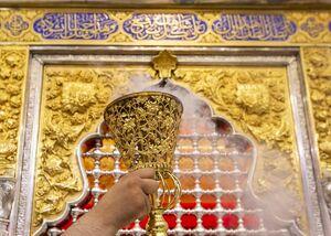 عکس/ شستشوی حرم مطهر حضرت اباالفضل(ع)