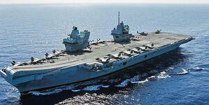 بیتوجهی ناو گروه نیروی دریایی انگلیس به هشدارها و نقض حریم دریایی چین
