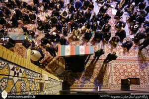 عکس/ میزبانی حرم حضرت معصومه(س) از شهید گمنام