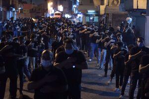 عکس/ عزاداری باشکوه مردم بحرین در شب ۲۸صفر