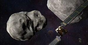ماموریت جدید ناسا مسیر سیارک را عوض میکند