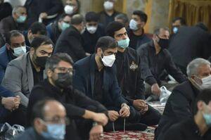 تصویر جدید حضور سعید محمد در هیئت قالیباف