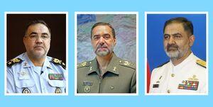 دیدار فرماندهان نیروی هوایی و دریایی ارتش با وزیر دفاع
