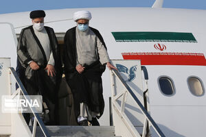 عکس/ ورود رئیسی به بوشهر