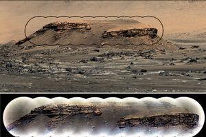 کشف دریاچهای در مریخ توسط کاوشگر ناسا