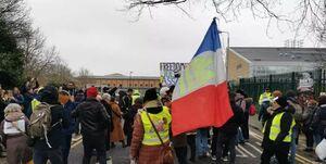 سیزدهمین هفته اعتراض فرانسویها به سیاستهای کرونایی دولت +عکس