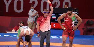 ساروی پس از کسب طلا: انتظار داشتم این مدال را در المپیک بگیرم