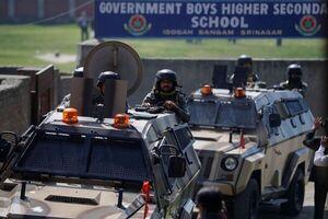 بازداشت بیش از ۳۰۰ شهروند کشمیری در پی تظاهرات امروز