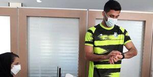 حضور بازیکنان استقلال در تست پزشکی +عکس