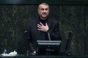 «امیرعبداللهیان» یکشنبه هفته آینده به مجلس میرود