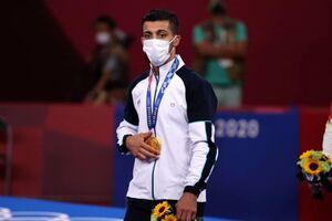 واکنش اتحادیه جهانی کشتی به مدال طلای محمدرضا گرایی