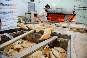 عکس/ نان مورد علاقه کربلاییها