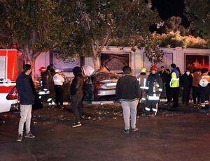 عکس/ تصادف مرگبار در بولوار «ملک آباد» مشهد