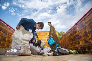 عکس/ اقدام زیبای جوانان شهرستان ساری