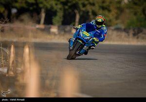 عکس/ مسابقات موتورسواری سرعت ناجا