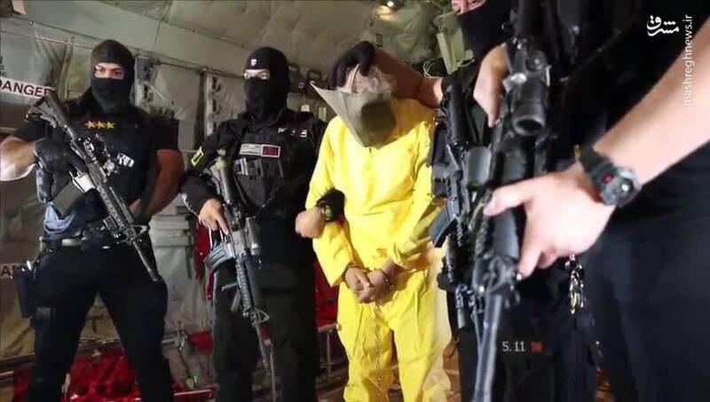 مشرق نیوز - اولین تصاویر از دستگیری معاون ابوبکر بغدادی