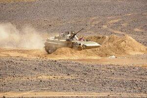 فیلم/ اقتدار یگان ضد زره یمن در مارب