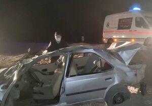 واژگونی ۲ خودرو سواری در کرمان با ۲۴ مصدوم