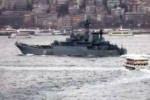 اعزام ۲ ناوچه نظامی روسی مسلح به موشک های کروز به مدیترانه