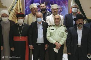 دیدار رئیس پلیس پایتخت با بزرگان ادیان توحیدی