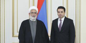 رئیس مجلس ملی ارمنستان: گفتوگوی مهمی با دادستان کل جمهوری اسلامی ایران داشتم