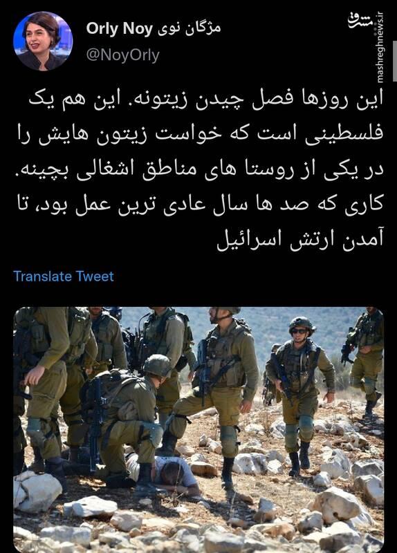 کاری که عادیترین عمل تا آمدن ارتش اسرائیل بود! +عکس