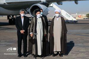 عکس/ رئیس جمهور در استان فارس