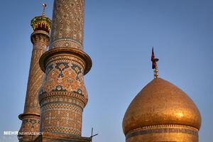 برگزاری مراسم شهادت امام حسن عسکری (ع) در حرم عبدالعظیم (ع)